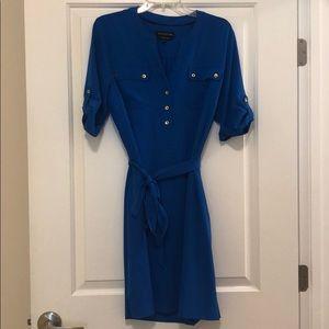 Jones New York Tie Waist Dress